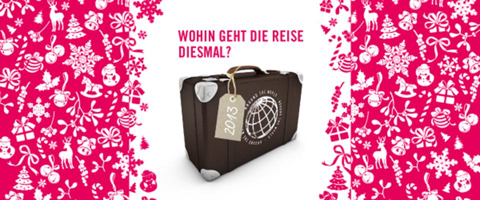 Blick auf Weihnachtskarte Schleuse01 Werbeagentur Berlin 2013