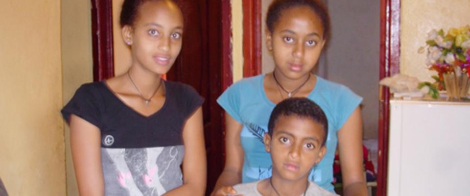 Foto der Kinder aus Äthiopien, Spendenprojekt out of dansha