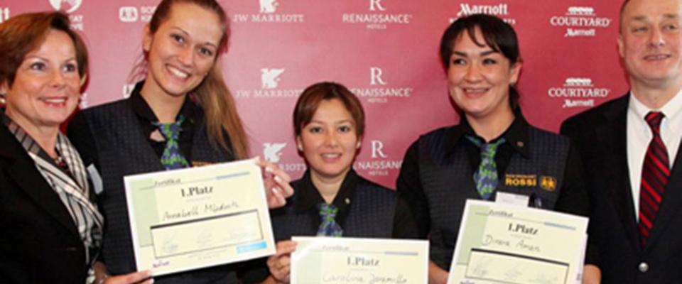 SOS Kinderdorf, Auszubildende Gewinner Marriot Hotel