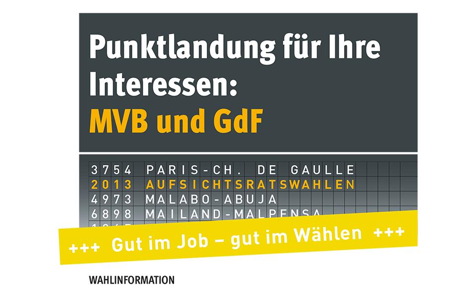 Flyer Wahlinformation GdF Aufsichtsratswahlen