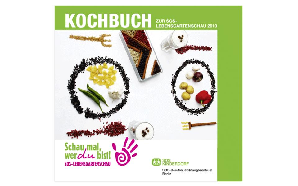 Ansicht Titel Kochbuch SOS Kinderdorf