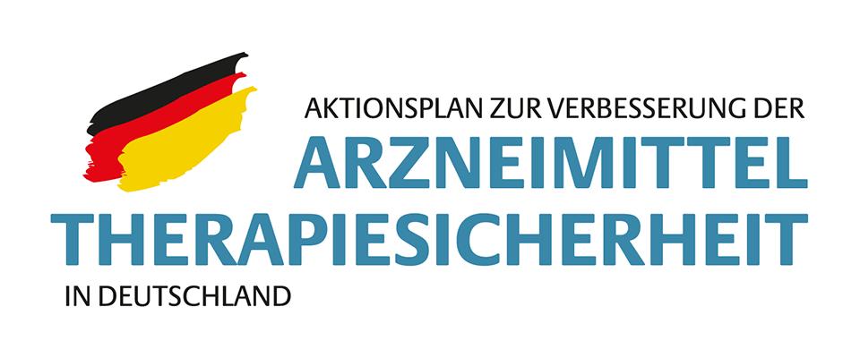 Logo Arzneimitteltherapiesicherheit lang