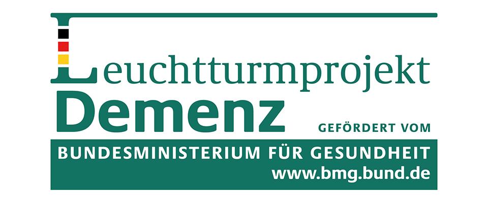 Logo Leuchtturmprojekt Demenz