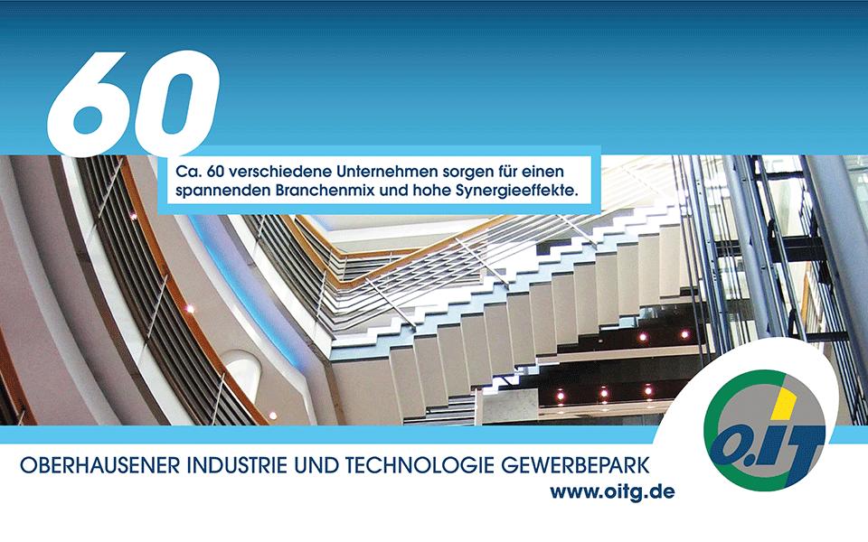 Ansicht Screen Anzeige Werkstadt Oberhausen / OITG 04