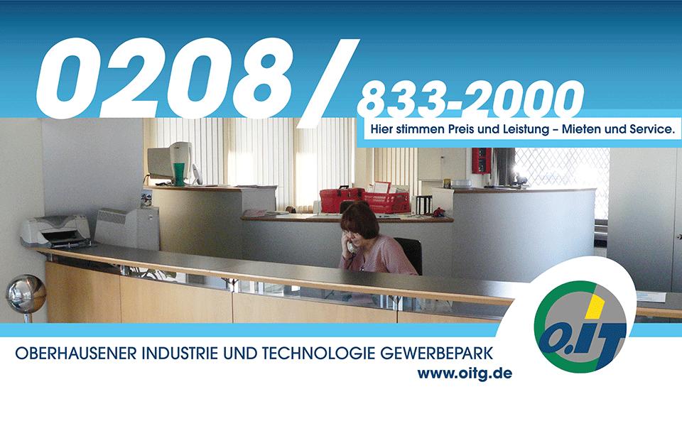 Ansicht Screen Anzeigen Werkstadt Oberhausen / OITG