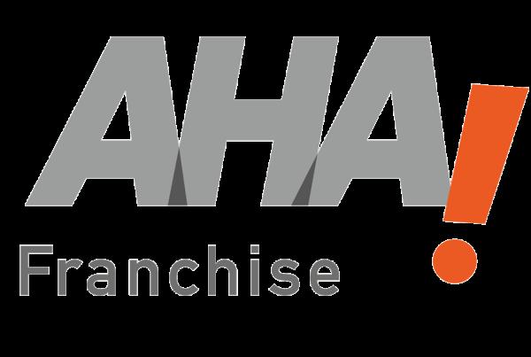 Ansicht Logo AHA Franchise