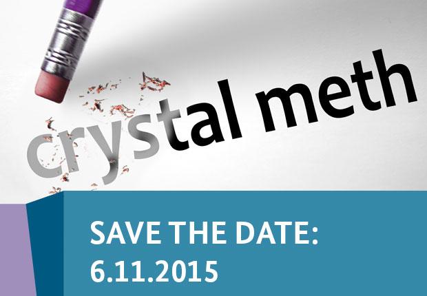 Ansicht Schriftzug Cristal Meth