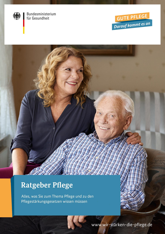 Ansischt Titel Ratgeber Pflege